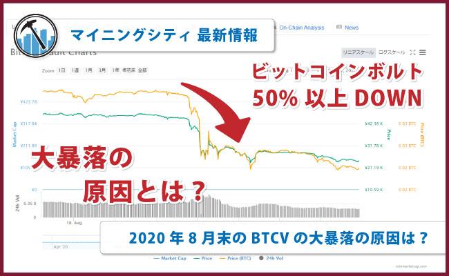 ボルト ビット と は コイン ビットコインボルト(BTCV)はどうなる?チャート・レートから今後の価格推移を考察